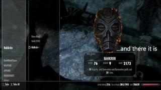 Skyrim - How to find the Nahkriin Dragon Priest Mask