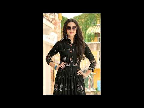 shruti-vol-2-rangjyot-one-piece-gown-reyon-floor-length-casual-wear-manufacturer-wholesaler