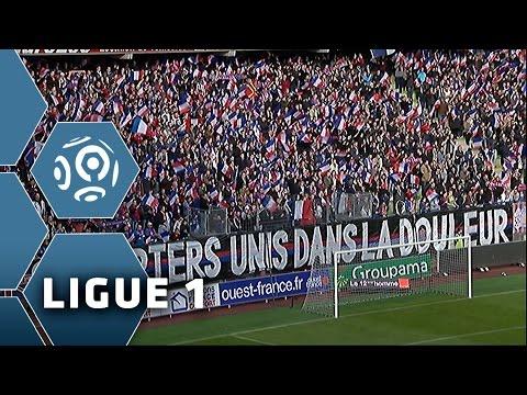 La Ligue 1 est Paris, hommage aux victimes des attaques - 14ème journée de Ligue 1/ 2015-16