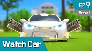 Power Battle Watch Car S1 EP09 Invincible Shield Million 01 English Ver