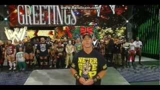WWE Raw 122412 - Christmas Season