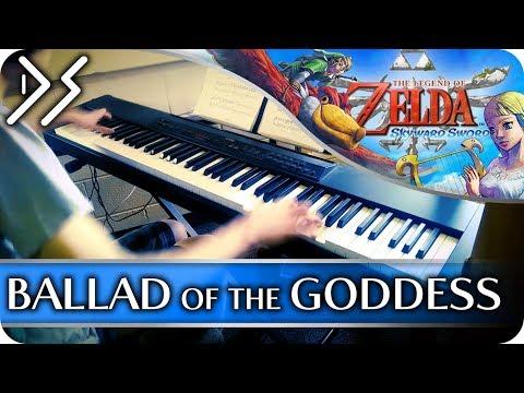 "Legend of Zelda: Skyward Sword - ""Ballad of the Goddess"" [YEAR 4 FINALE!!] || DS Music"