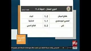 اكسترا تايم | تعرف على نتائج مباريات اليوم من الدوري المصري الممتاز