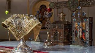 Божественная литургия в день памяти святителя Иоанна Златоуста