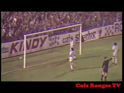 FC Rouen - Nancy Division 1 1983/1984 but de Djamel Tlemçani