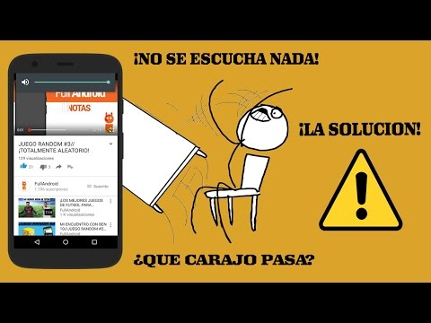 NO SE ESCUCHA EL SONIDO DE LOS VIDEOS DE YOUTUBE//PROBLEMA SOLUCIONADO