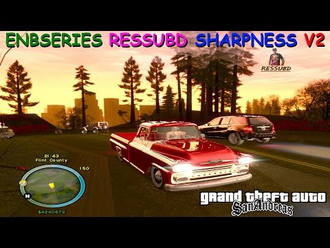 ENBSERIES 2016 SHARPNESS RESSUBD V2 (Com Bulb ,Dof) PARA GTA SAN ANDREAS BY OLIVEIRA FULL HD 1080p60