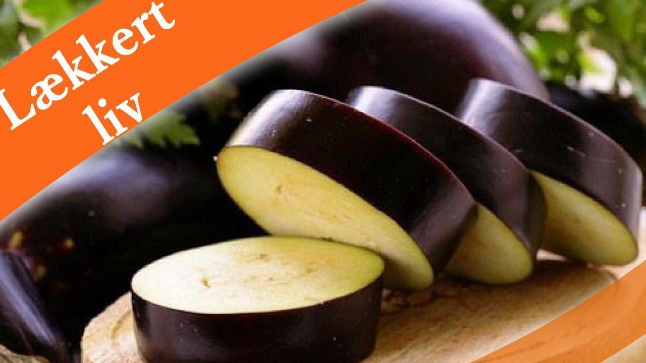Spis aubergine for at tabe dig og forbedre fordøjelsen