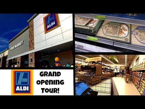 Aldi Grand Opening | Aldi Store Tour