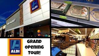 aldi grand opening aldi store tour