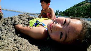 夏だ!海で遊んできたRino&Yuuma thumbnail