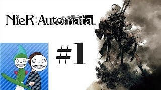 Nier Automata Ep 1 Swords and Jets