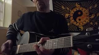 "KILLING JOKE : "" EUPHORIA"" Guitar Chords & Harmonics parts - Second Try -"