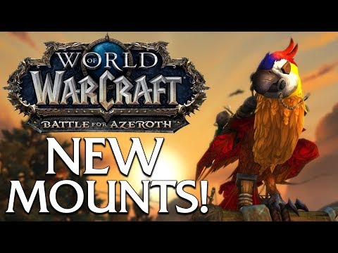 The Many New Mounts of Battle for Azeroth (so far) | World of Warcraft