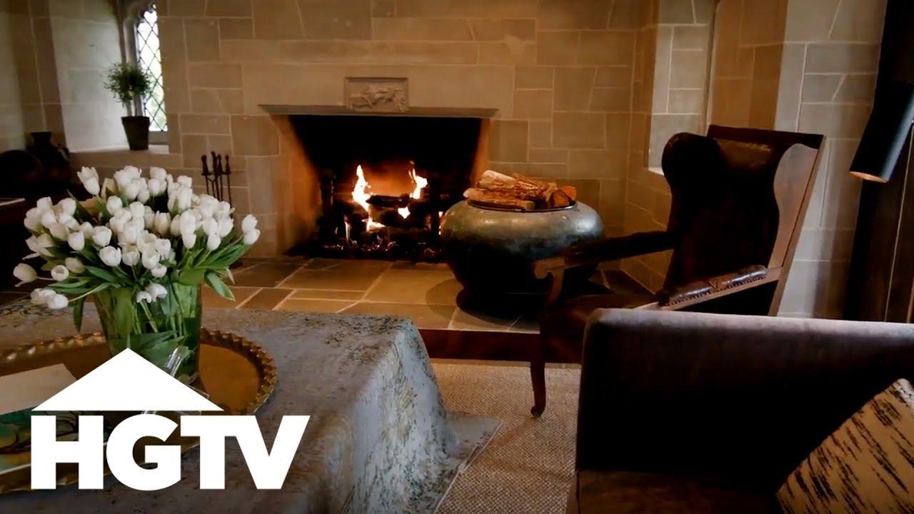 Cozy Luxe Living Room Design - HGTV