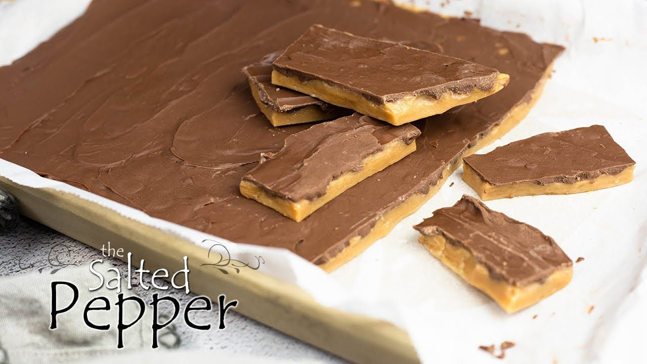 Download Easy Homemade Toffee in 15 minutes!