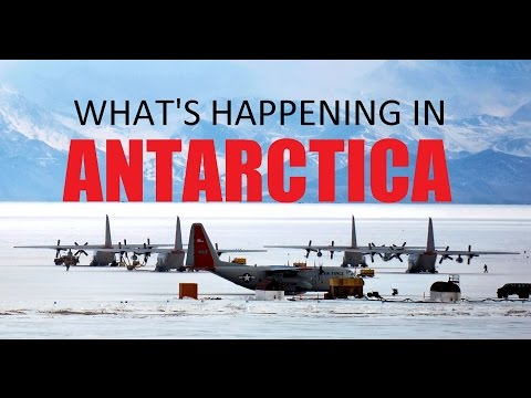 What's happening in Antarctica? (Antarctica Top Secret)