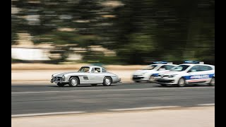 COURSE POURSUITE en 300SL !!! Carspotting in Paris