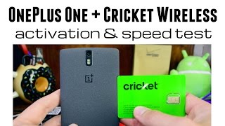 cricket wireless with the oneplus one network testings speed tests first thoughts
