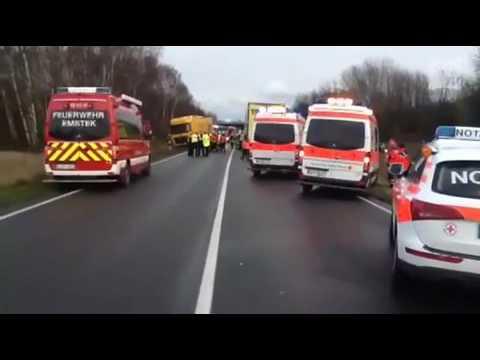Tödlicher Unfall auf der B72