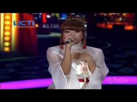 Penampilan terakhir GHEA - TIBA-TIBA CINTA DATANG - Spekta Show Top 5 - Indonesian Idol 2018