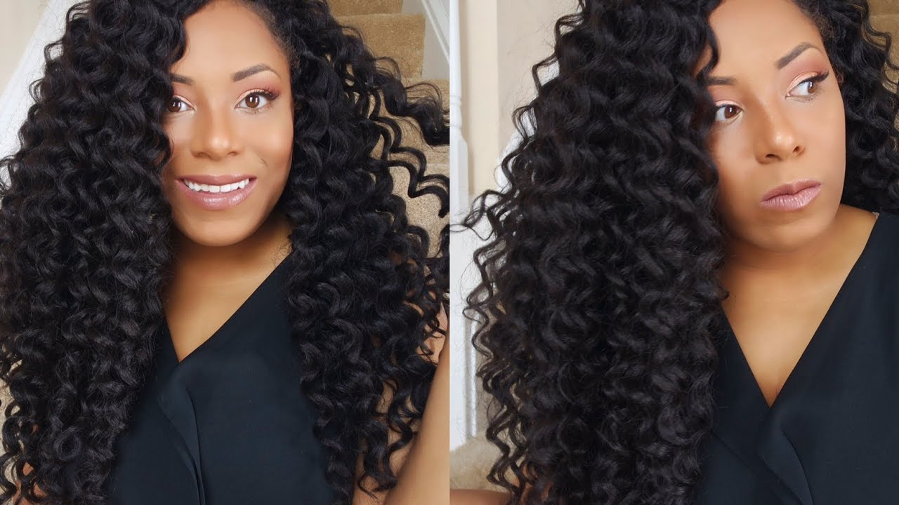 Kima Ripple Deep Crochet Hair Review Lia Lavon Youtube