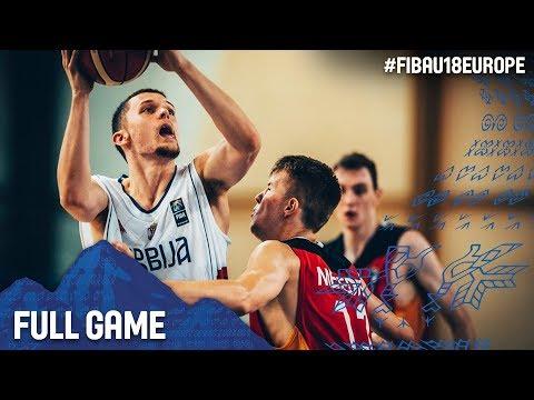 Serbia v Germany - Full Game - Round of 16 - FIBA U18 European Championship 2017