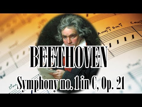 🎼 BEETHOVEN Symphony no. 1 in C, Op. 21 | BEETHOVEN Classical Music for Relaxation and Studying