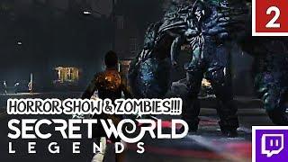 HORROR SHOW ZOMBIES... - Secret World Legends [Gameplay 2]