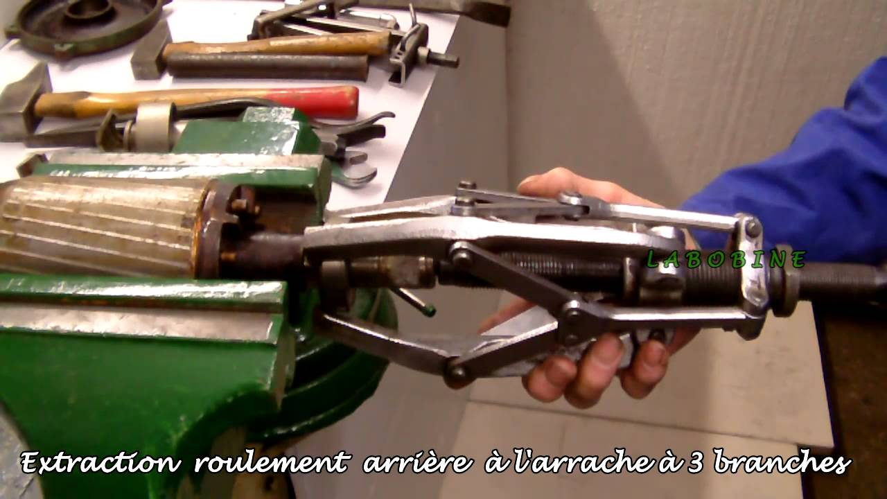 Extraction roulement bille 2 youtube - Roulement a bille ...