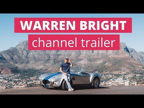 Warren Bright | South African Entrepreneur | Channel Trailer