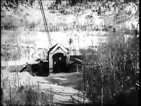 Cannon Mountain Aerial Tramway January 17th, 1939