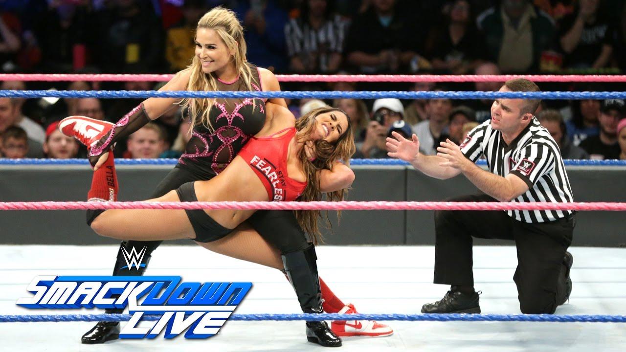 Download Nikki Bella vs. Natalya - Winner is captain of Survivor Series Team: SmackDown LIVE, Oct. 25, 2016
