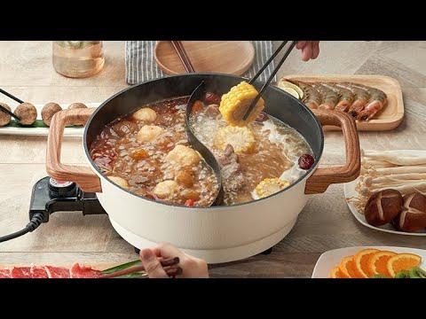 Royalstar 5L Large Capacity 6-8 Person Steamboat Hot Pot Home Electric Shabu Shabu Cooker