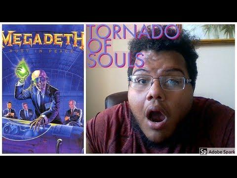 Megadeth- Tornado of Souls (Reaction First Listen)