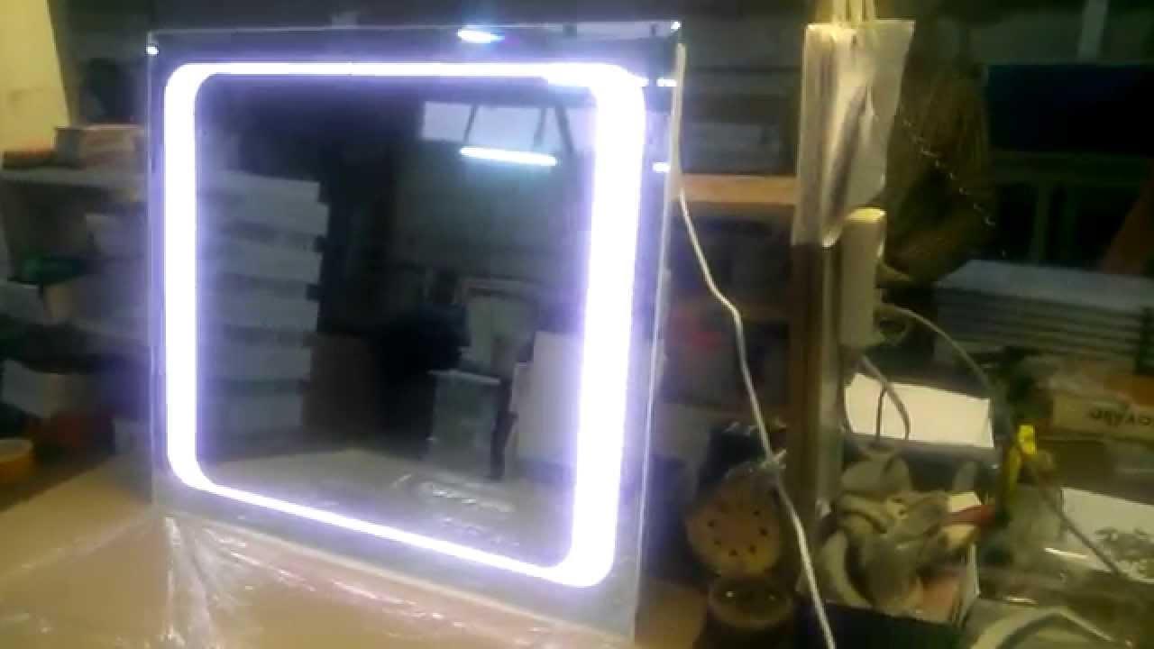 Основные виды зеркал с LED подсветкой. Light mirrors high quality .