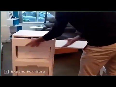 The Smart Furniture Of The Future ||  Expand Furniture Space Saving Ideas Future Furniture