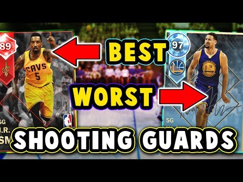 TOP 5 BEST/WORST VALUE SHOOTING GUARDS in NBA 2K18 MyTEAM!