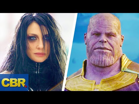 What People Forget About Thanos And Hela's Relationship