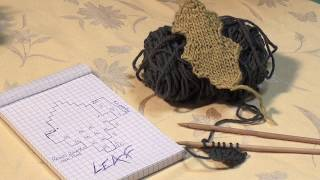 How to Make Knitted Leaves