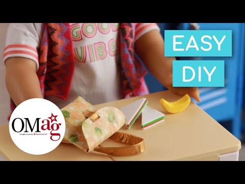Back to School Lunch Box for Your Dolls | Doll DIY | American Girl