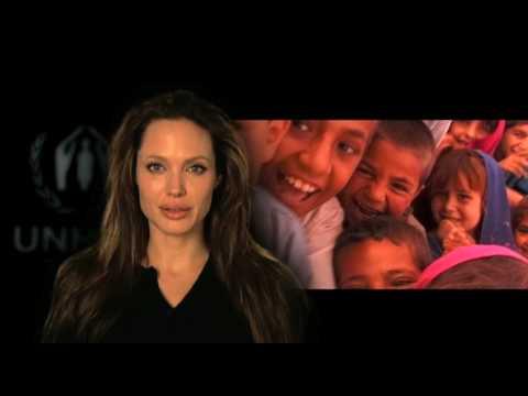 Angelina Jolie on Behalf of Refugees