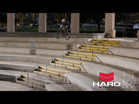 Tyler Fernengel's Insane Haro BMX Section!