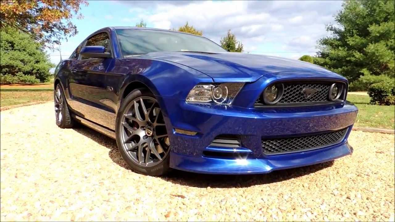 2013 Ford Mustang GT New Charcoal AMR Wheels Installed ...