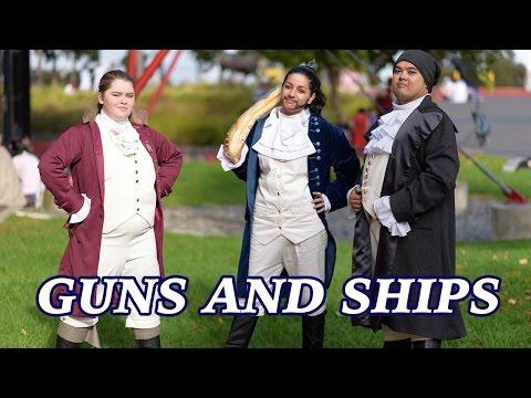 Hamilton Cosplay: Guns and Ships