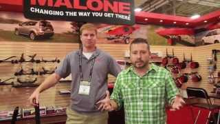 Outdoor Retailer - Malone new light weight kayak trailer and kayak transportation systems