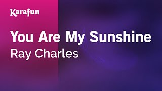 Karaoke You Are My Sunshine - Ray Charles *