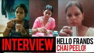 Chai Peelo Friends   Interview with Somvati Mahawar