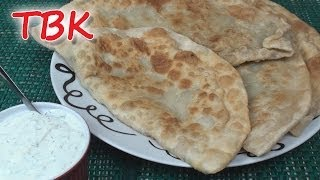 Video Afghan Bolani Recipe with Yoghurt Dip - Titli's Busy Kitchen download MP3, 3GP, MP4, WEBM, AVI, FLV September 2018