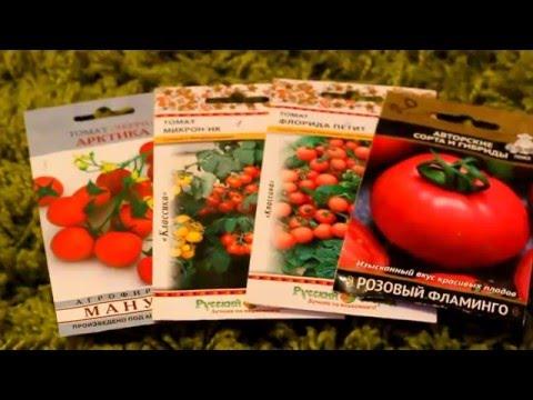 Комнатные томаты  1.03.2016 Обзор разных сортов томатов